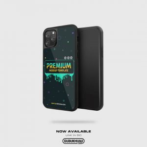 Mockup Tempered Case iPhone 11 Pro